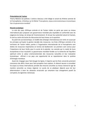 article economie verte