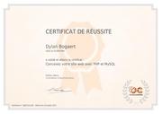 dylan bogaert concevez votre site web php mysql