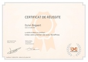 dylan bogaert creez premier site wordpress
