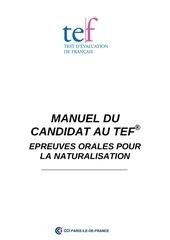 Fichier PDF manuel du candidat au tef epreuves orales pas de prepa
