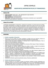 offre emploi assist ad