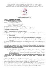 Fichier PDF relementation federation petanque 2017