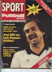 sport illustrierte fussball woche july 5 1982