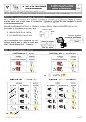 fc 4 5 ci10d analyse chaine information logique combinatoire