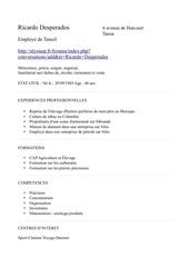 Fichier PDF cv tanoil pdf