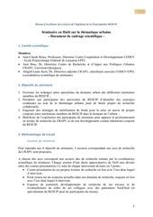methodologie seminaire rescif crapu uniq urbain en haeti