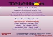 flyer pour telethon