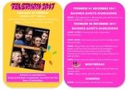 affiche telethon 2017