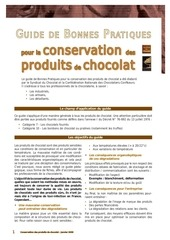 guide conservation chocolat janvier2009