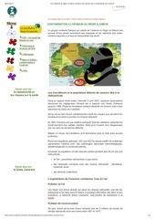 habitants niger gabon cancers exploitation de l uranium