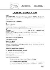 contrat de location pdf