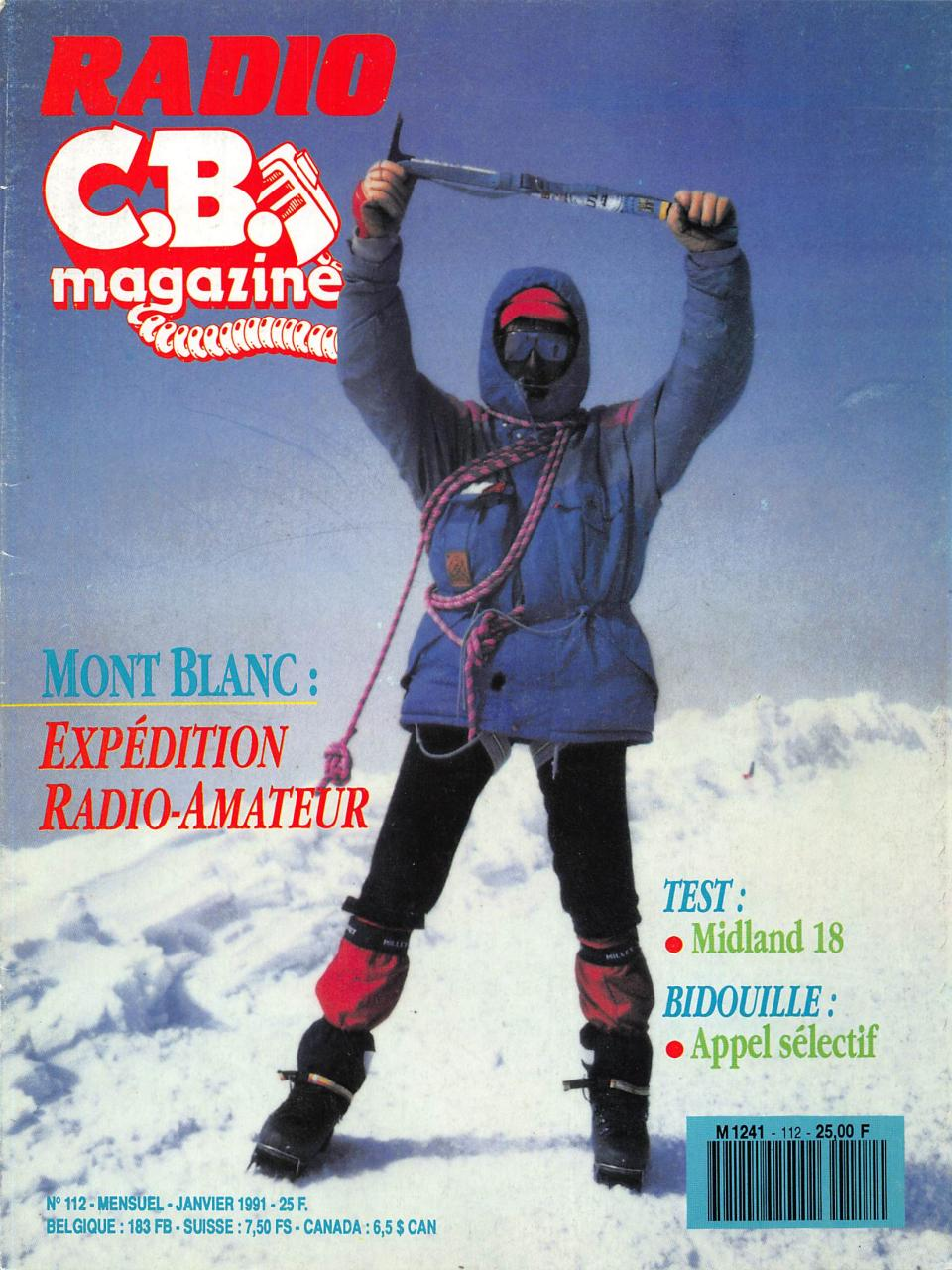 Radio CB Magazine 1991 01 No112 - Fichier PDF