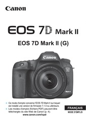 Fichier PDF eos 7d mark ii instruction manual fr