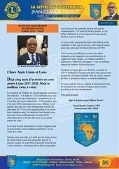la lettre du gouverneur novembre 2017