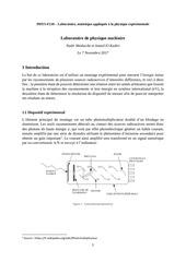 rapport de laboratoire nuclearexp
