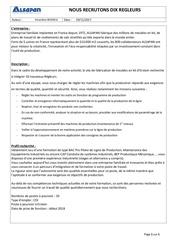 diffusion externe 10 regleurs
