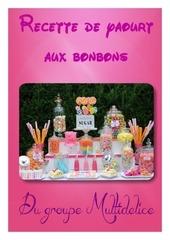yaourt aux bonbons