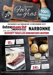 intermarche narbonne foire gras 12 2017