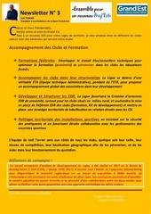 Fichier PDF newsletter 3 accompagnement des clubs proj est