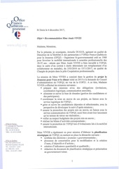 recommandation ofqj anaes vives