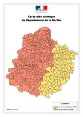 Fichier PDF carte alea sismique sarthe 2017