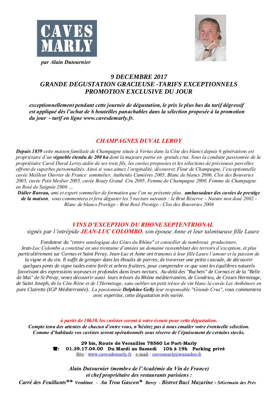 Aperçu du document dégustation 9 Dec2017.pdf - page 1/1
