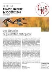 la lettre chasse nature societe 2040