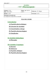 pharmacognosie 4 12 11h15 12h15