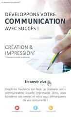 Fichier PDF flyer presentation interactif