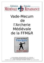 m r vade mecum de l archerie medievale decembre 2017