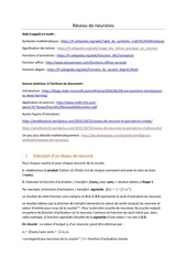 Fichier PDF reseau de neurones