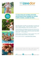 Fichier PDF jeux eau activites aquatiques
