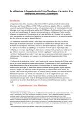 le militantisme fm et carriere sayyid qutb