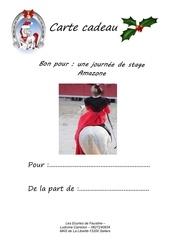 carte cadeau stage amazone pdf