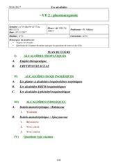 pharmacognosie 7 02 10h15 12h15 pr saphaz