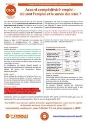accord competitivite emploi n 5 decembre 2017