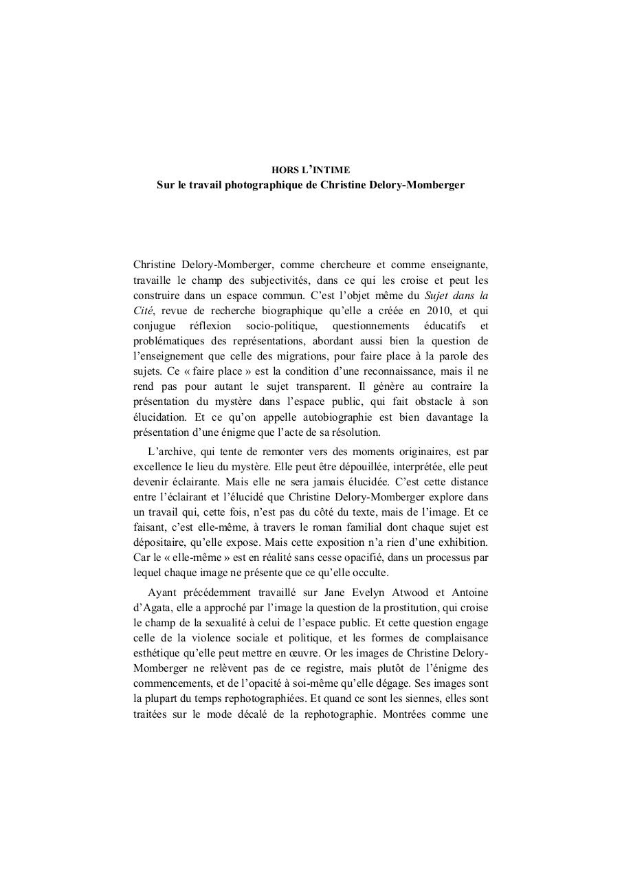 Aperçu ChristianeVollaire_Horslintime.pdf - Page 1/2