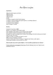 recettes st nicolas