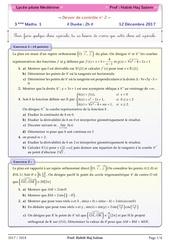 Fichier PDF devoir de controle 2 3maths