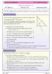 devoir de controle 4 maths
