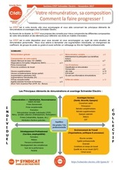 guide cfdt remunerations evolutions salaires