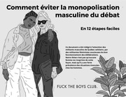 monopolisation boys club