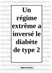 un regime extreme a inverse le diabete de type 2