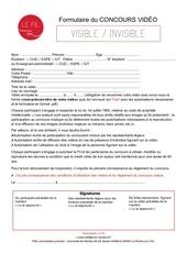 Fichier PDF formulaire concours fil2