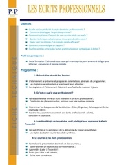 Fichier PDF ft les ecrits professionnels