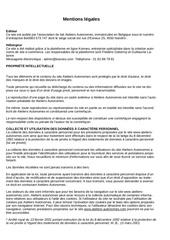 Fichier PDF mentions legales site internet
