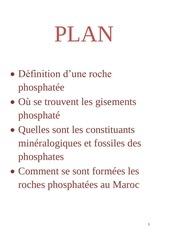 Fichier PDF phosphate