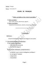 Fichier PDF francais prof