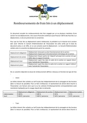 annexe remboursement deplacement