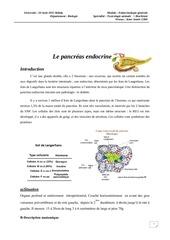 les glandes parathyroedes pancre